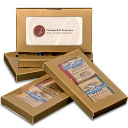 Business Card Chocolate Box