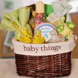 Baby Things Gift Basket