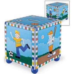 Children's Sports Tzedakah Box