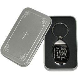 I Know the Plans I Have for You Verse Keyring
