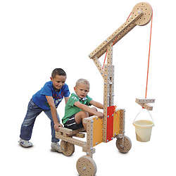 Woodmobiel Construction Toy