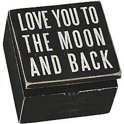 To the Moon Trinket Box