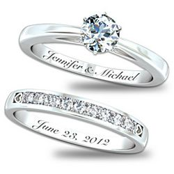 Personalized Women's Our Forever Love Diamond Ring