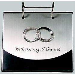 Wedding Ring Flip Photo Album