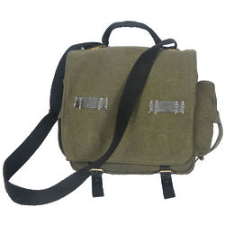Green Miramar Cross Body Messenger Bag