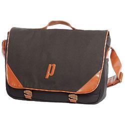 Classic Black Tennis Messenger Bag