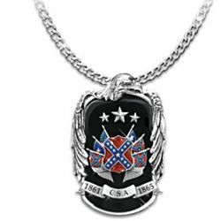Pride Of The South Civil War Commemorative Necklace
