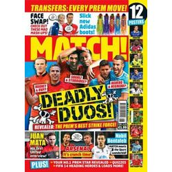 Match Soccer Magazine Weekly Subscription 51 Issues