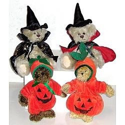 Teddy Bear in Halloween Costume