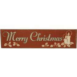 Merry Christmas Nostalgic Tin Sign