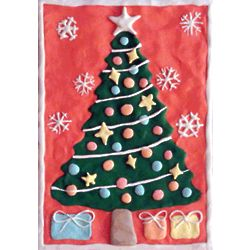 Chew-By-Numbers Christmas Tree