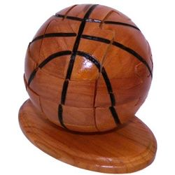 Basketball 3D Jigsaw Wooden Puzzle