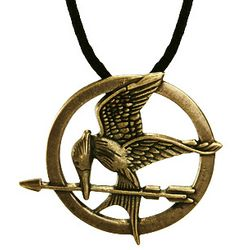 Hunger Games Inspired Mockingjay Pendant Necklace