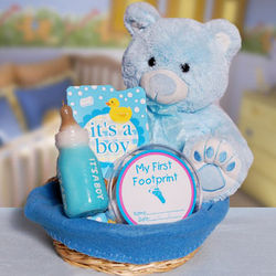 For the Baby Boy Gift Basket