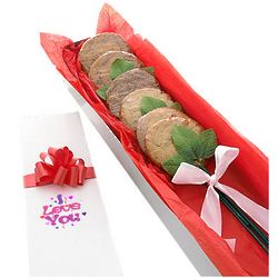 I Love You Long Stem Cookie Bouquet