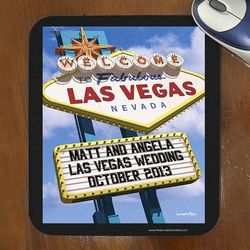 Welcome to Las Vegas Personalized Mouse Pad