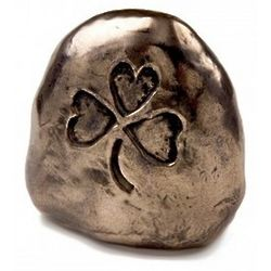 Irish Shamrock Good Luck Rock