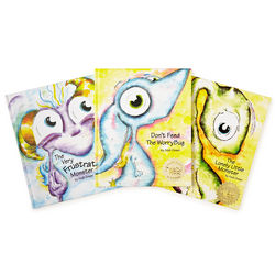 Little Monster and Worry Bug Books