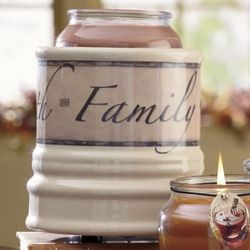 Family Candle Crock
