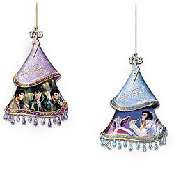 Elvis A Shimmering Legacy Christmas Ornaments