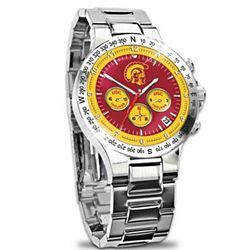 Men's USC Trojans Commemorative Chronograph Watch