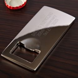 Pocket Pop-Top Personalized Bottle Opener
