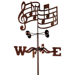Music Garden Weathervane