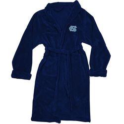 North Carolina Tar Heels Men's Silk Touch Plush Bath Robe