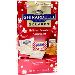 Ghirardelli Squares Holiday Chocolate Assortment Bag