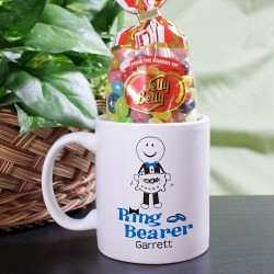 Personalized Whimsical Ring Bearer Mug