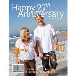25th Anniversary Custom Magazine Cover