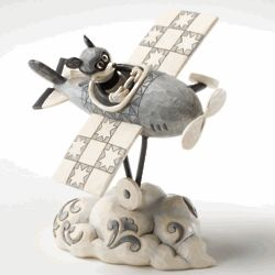 Mickey Mouse Airplane Figurine