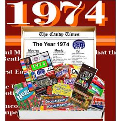 1974 40th Birthday Retro Gift Box of Nostalgic Candy