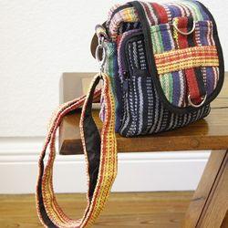 Gheri Fabric Multi Pocket Traveler Bag