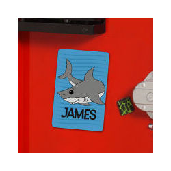 Personalized Shark Locker Magnet