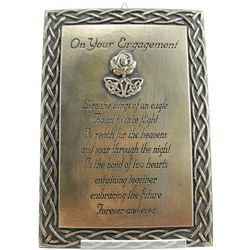 Engagement Blessing Plaque