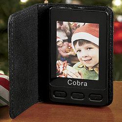 Portable Digital Photo Album with Clock