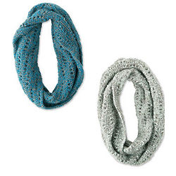 Handcrocheted Infinity Scarf