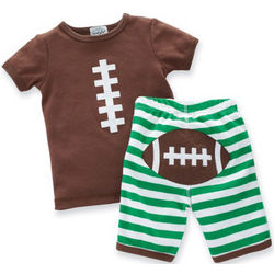 Football Shirt and Pants Infant Set