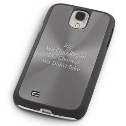 Gunmetal Samsung Galaxy S4 Case