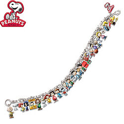 The Ultimate Peanuts Charm Bracelet