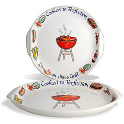 Personalized Jumbo BBQ Platter