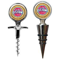 Detroit Pistons Cork Screw and Wine Bottle Topper