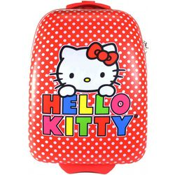 Hello Kitty Polka Dot Rolling Luggage Case