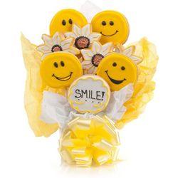 Smile Vanilla Sugar Cookie Bouquet
