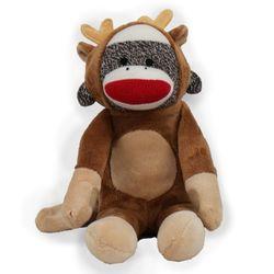 Reindeer Sock Monkey Stuffed Animals