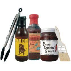Deluxe BBQ Gift Sampler Set