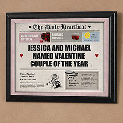 Daily Heartbeat Personalized Plaque
