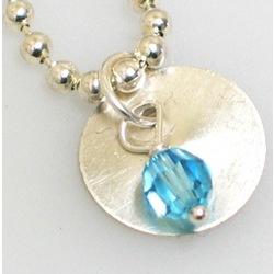Birthstone Drop Necklace