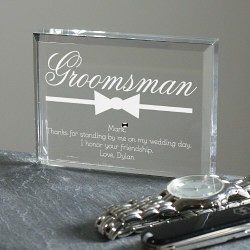 Groomsman Personalized Keepsake